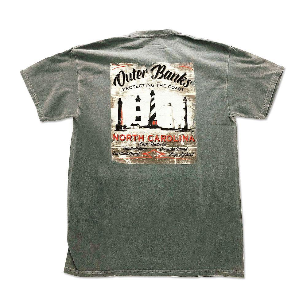 Outer Banks Lighthouses Short Sleeve T-Shirt