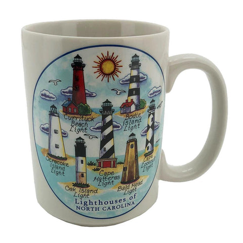 Lighthouses of North Carolina Mug