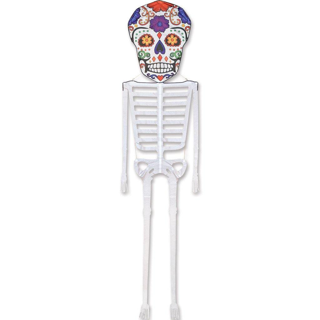 13 Foot Sugar Skull Skeleton Kite