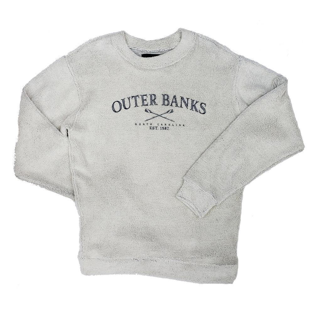 Outer Banks Terry Crew Neck Sweatshirt - Kitty Hawk Kites Online Store