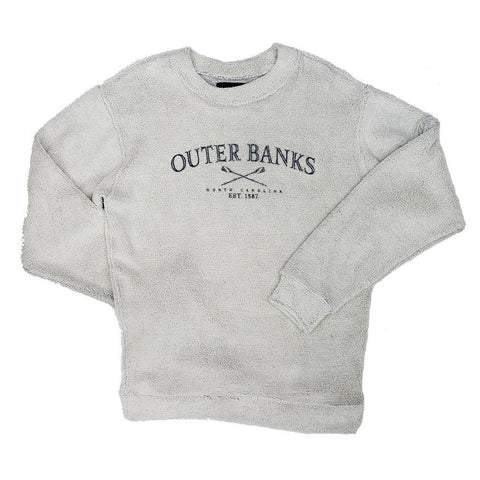 Outer Banks Terry Crew Neck Sweatshirt