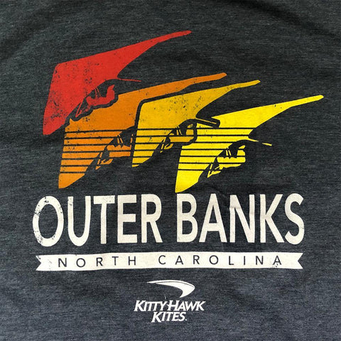 Youth OBX Short Sleeve Quatro Hang Glider Tee - Kitty Hawk Kites Online Store