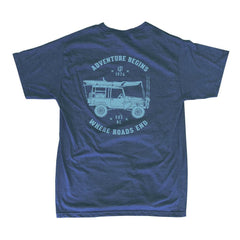 Adventure Begins Offroad Bi-Blend Short Sleeve Shirt
