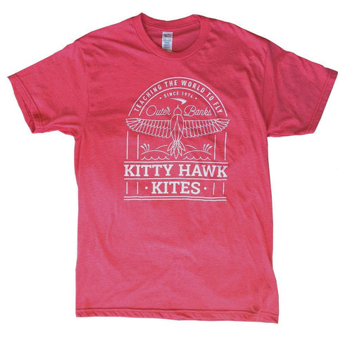 Kitty Hawk Kites Bird Bi-Blend Short Sleeve Shirt