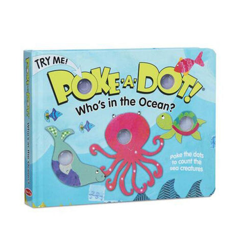 Poke-A-Dot Book: Who's in the Ocean