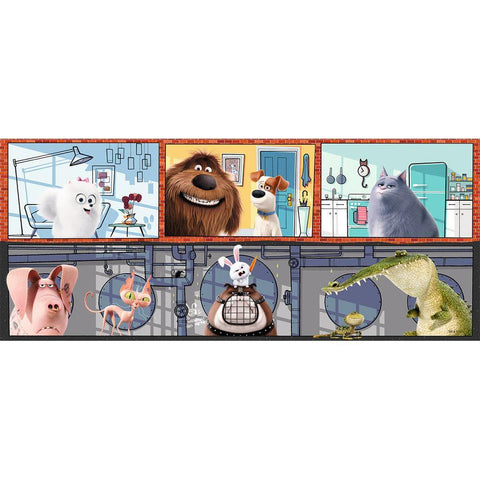 Secret Life of Pets Panorama Puzzle - Kitty Hawk Kites Online Store