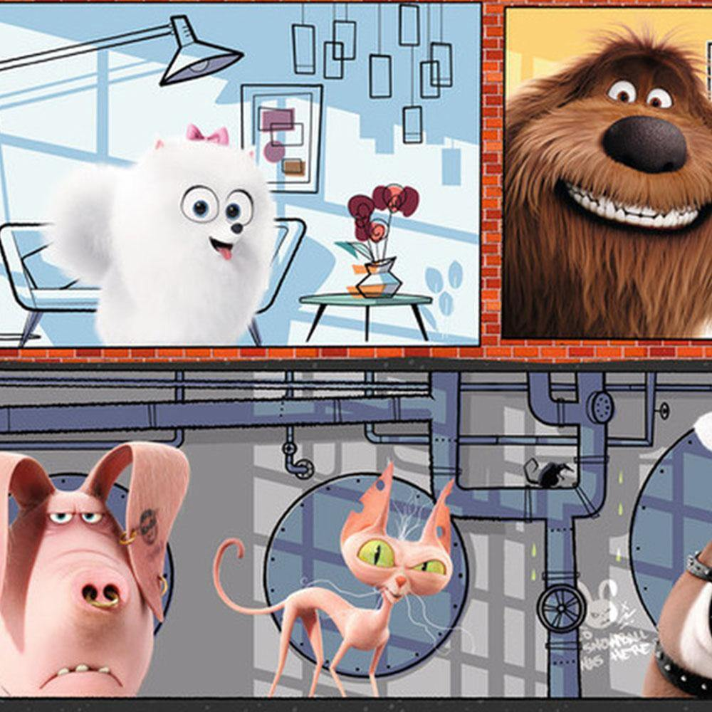 Secret Life of Pets Panorama Puzzle