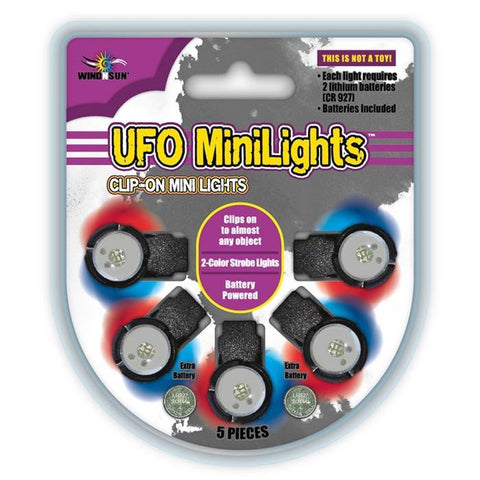 UFO Mini Kite Lights - 5 Pack - Kitty Hawk Kites Online Store