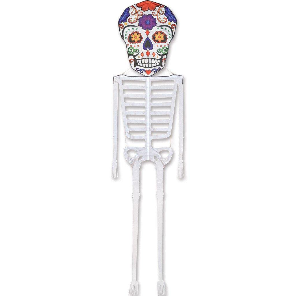 21 Foot Sugar Skull Skeleton Kite - Kitty Hawk Kites Online Store