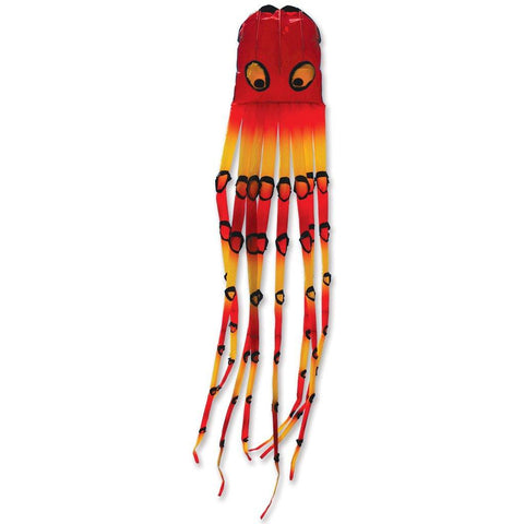 Warm Gradient Octopus Kite