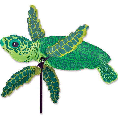 Baby Sea Turtle 18 Inch WhirliGig Wind Spinner