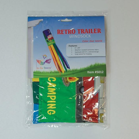 40 Inch Retro Camper Windsock