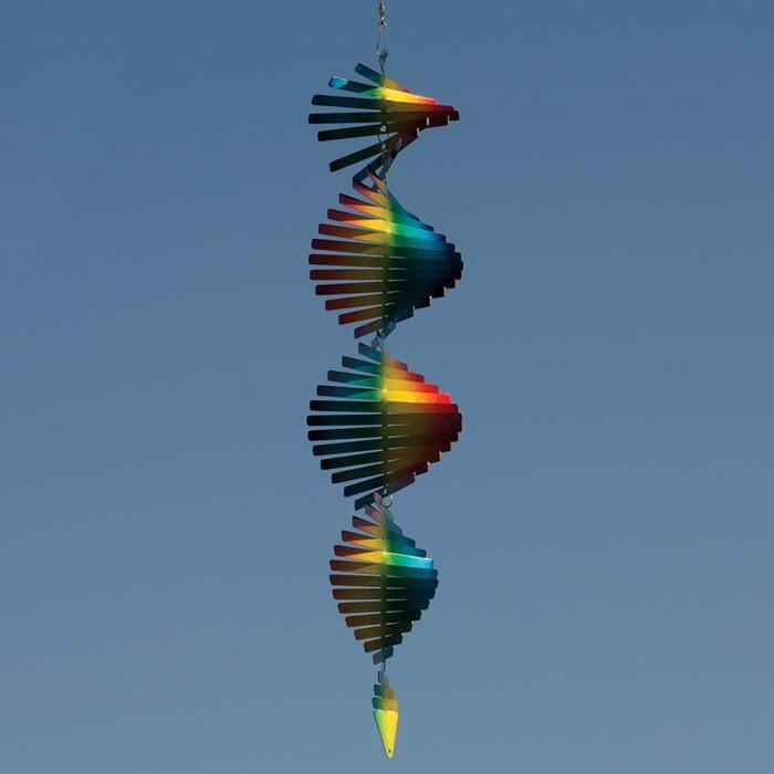 Rainbow Metal Helix Spinner - Kitty Hawk Kites Online Store