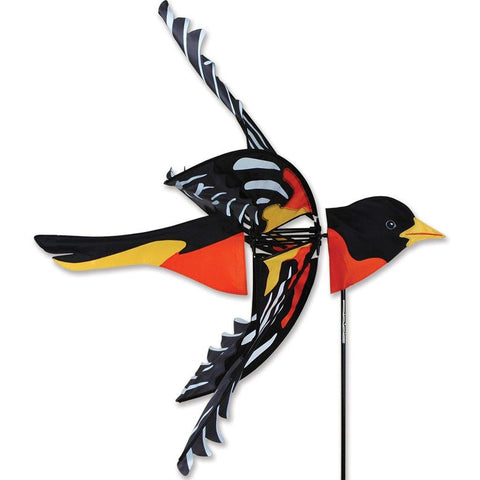 "Flying Northern Oriole 34"" Wind Spinner"
