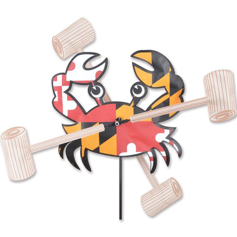 Maryland Crab 18 Inch WhirliGig Wind Spinner