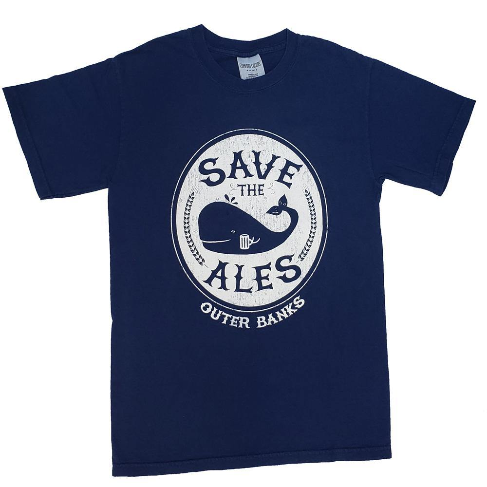 Outer Banks Save The Ales Short Sleeve T-Shirt - Kitty Hawk Kites Online Store