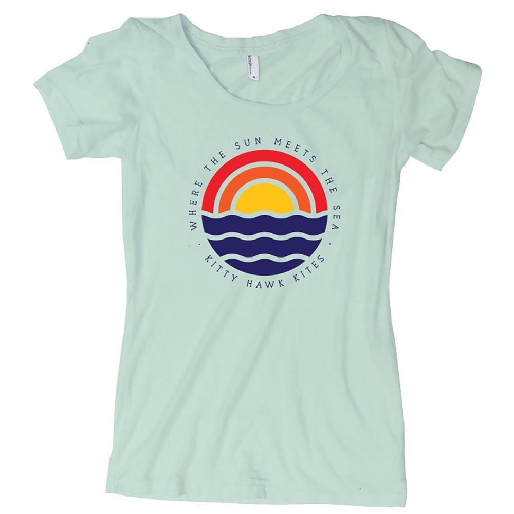 KHK Where The Sun Meets The Sea T-Shirt - Kitty Hawk Kites Online Store