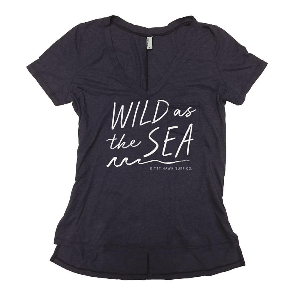 KHSC Wild As The Sea V-Neck Tee