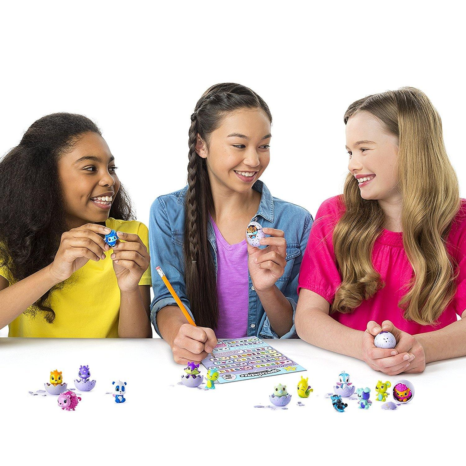 Hatchimals - CollEGGtibles - 4-Pack (Styles & Colors May Vary)
