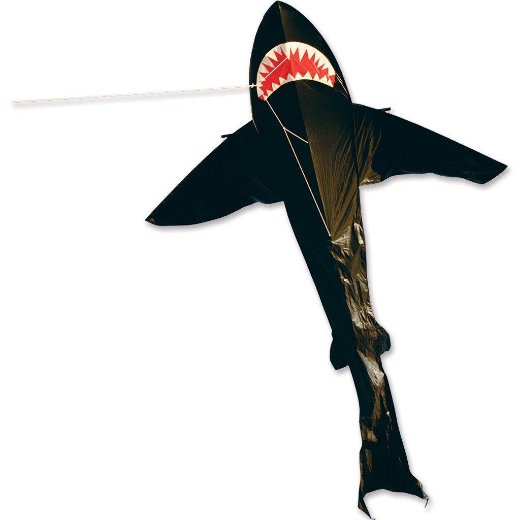 21 Foot Black Shark Kite