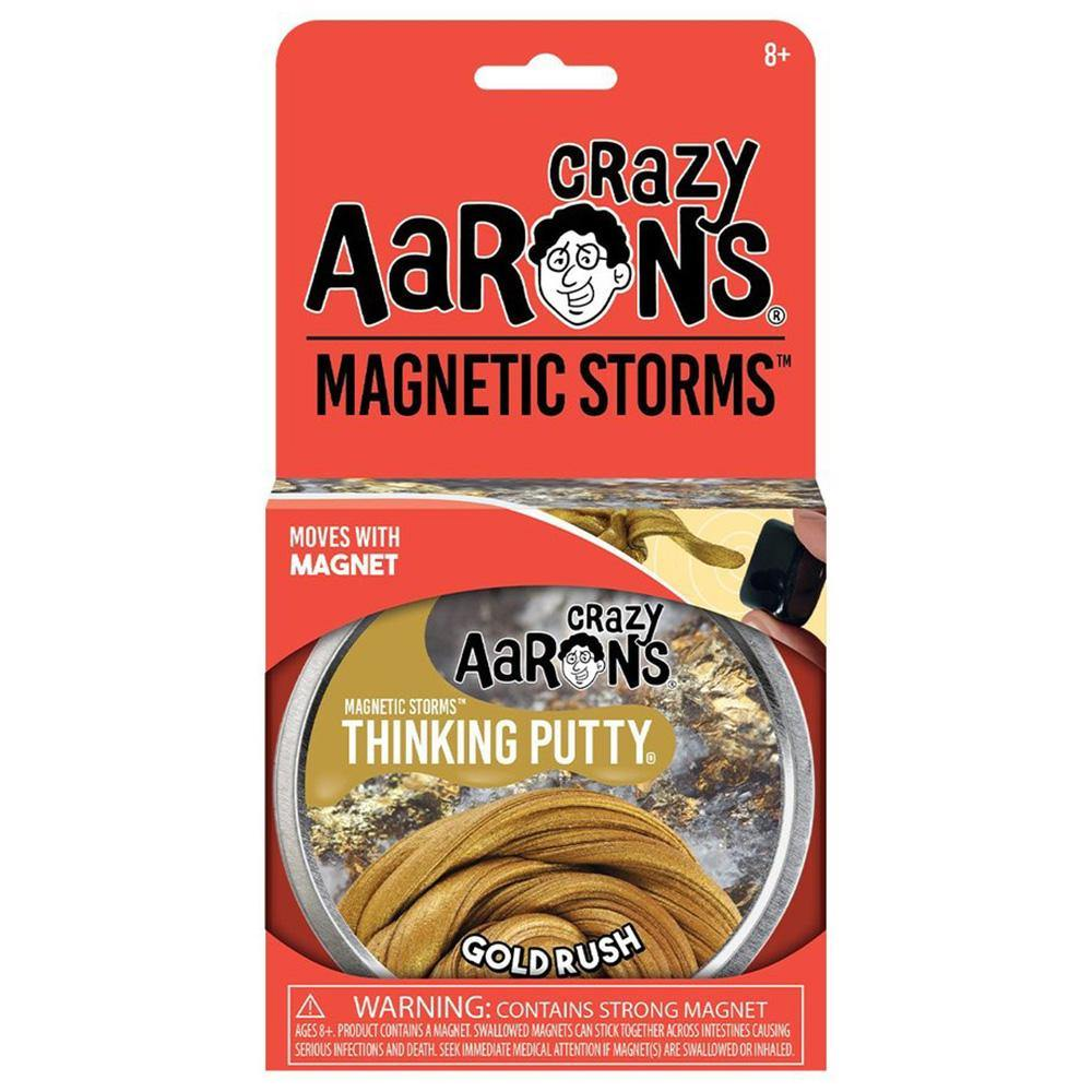 Crazy Aaron's Gold Rush Magnetic Putty - Kitty Hawk Kites Online Store
