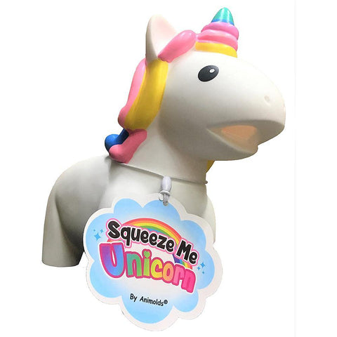 Animolds Squeeze Me Squeaky Unicorn