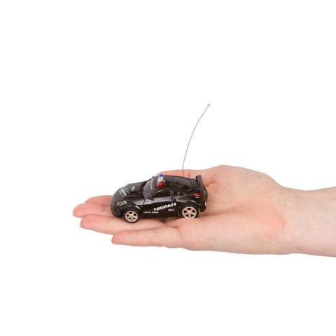RC Mini Black and White Police Car - Kitty Hawk Kites Online Store