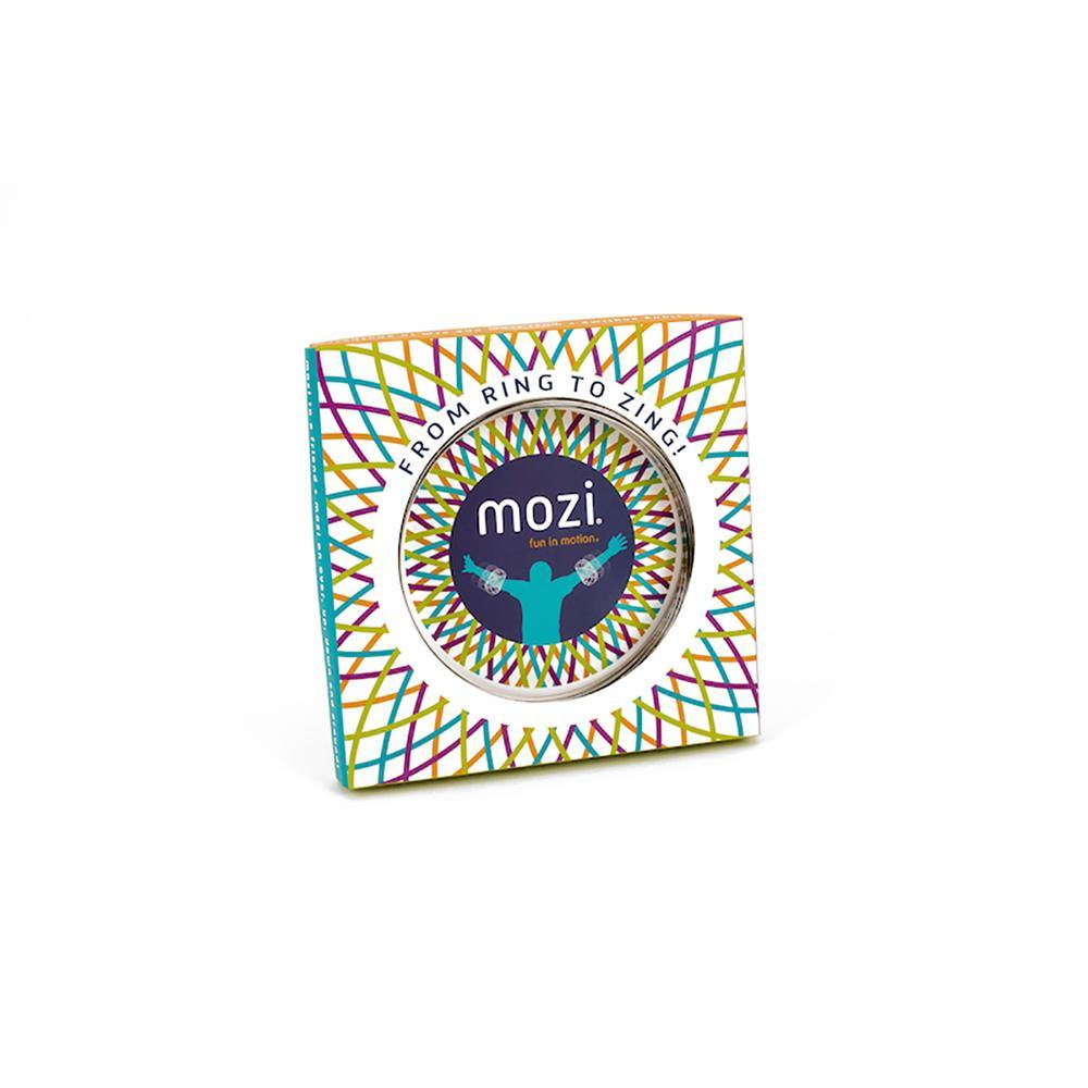 Mozi Geometric Arm Spinner - Silver