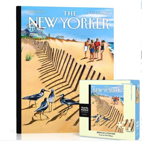 Birds of a Feather Mini Puzzle - 100 Pieces - Kitty Hawk Kites Online Store