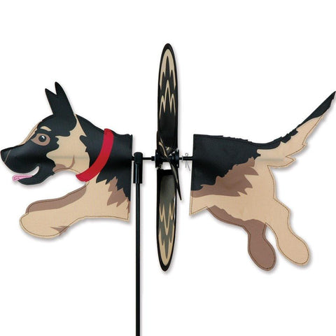 German Shepard Dog Petite Wind Spinner