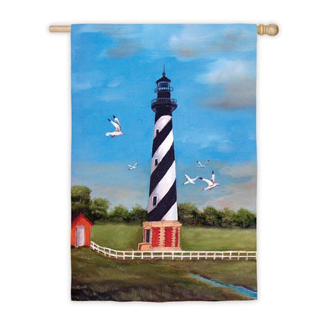 Cape Hatteras Lighthouse House Flag - Kitty Hawk Kites Online Store