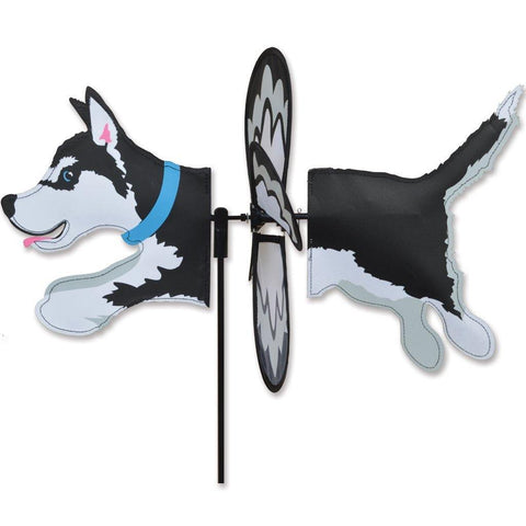 Husky Dog Petite Wind Spinner