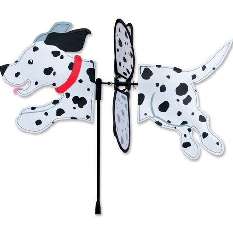 Dalmation Dog Petite Wind Spinner