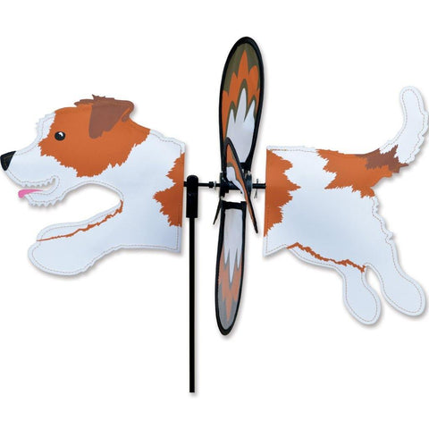 Jack Russell Dog Petite Wind Spinner - Kitty Hawk Kites Online Store