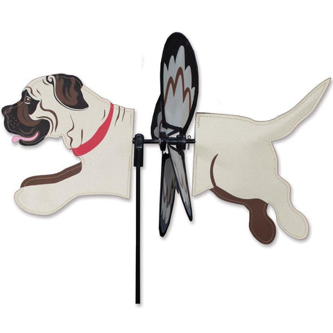 Mastiff Dog Petite Wind Spinner