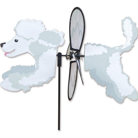 Poodle Dog Petite Wind Spinner