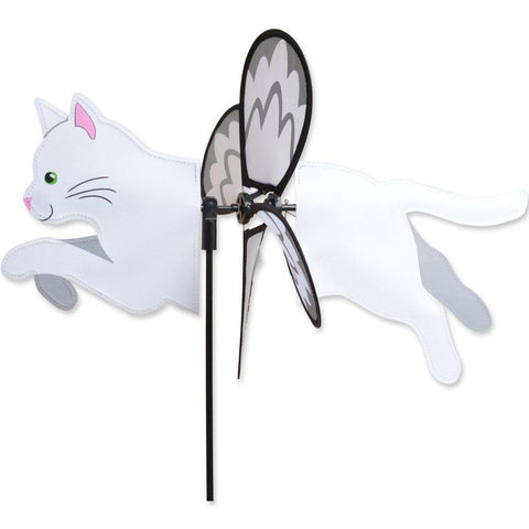 White Cat Petite Wind Spinner