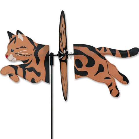 Tabby Cat Petite Wind Spinner