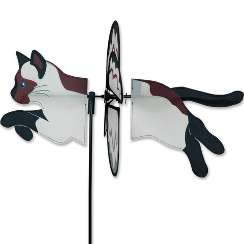 Siamese Cat Petite Wind Spinner