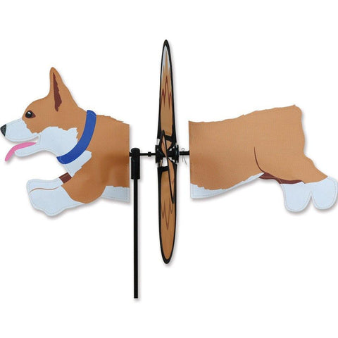 Corgi Dog Petite Wind Spinner