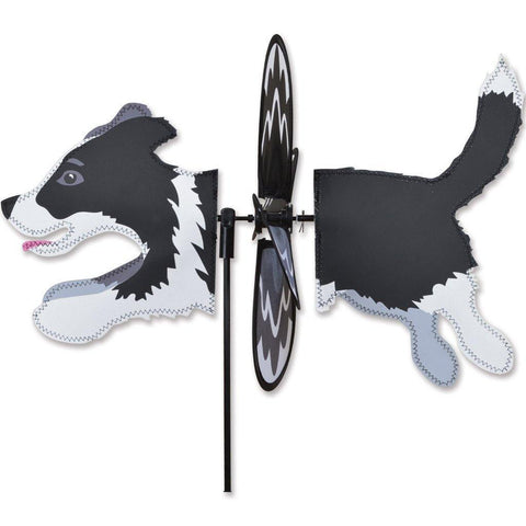 Border Collie Dog Petite Wind Spinner - Kitty Hawk Kites Online Store