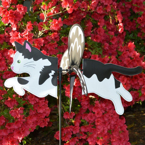 Black & White Cat Petite Spinner - Kitty Hawk Kites Online Store