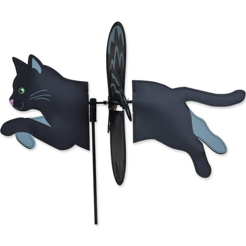 Black Cat Petite Wind Spinner
