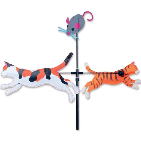 Cats Carousel Wind Spinner