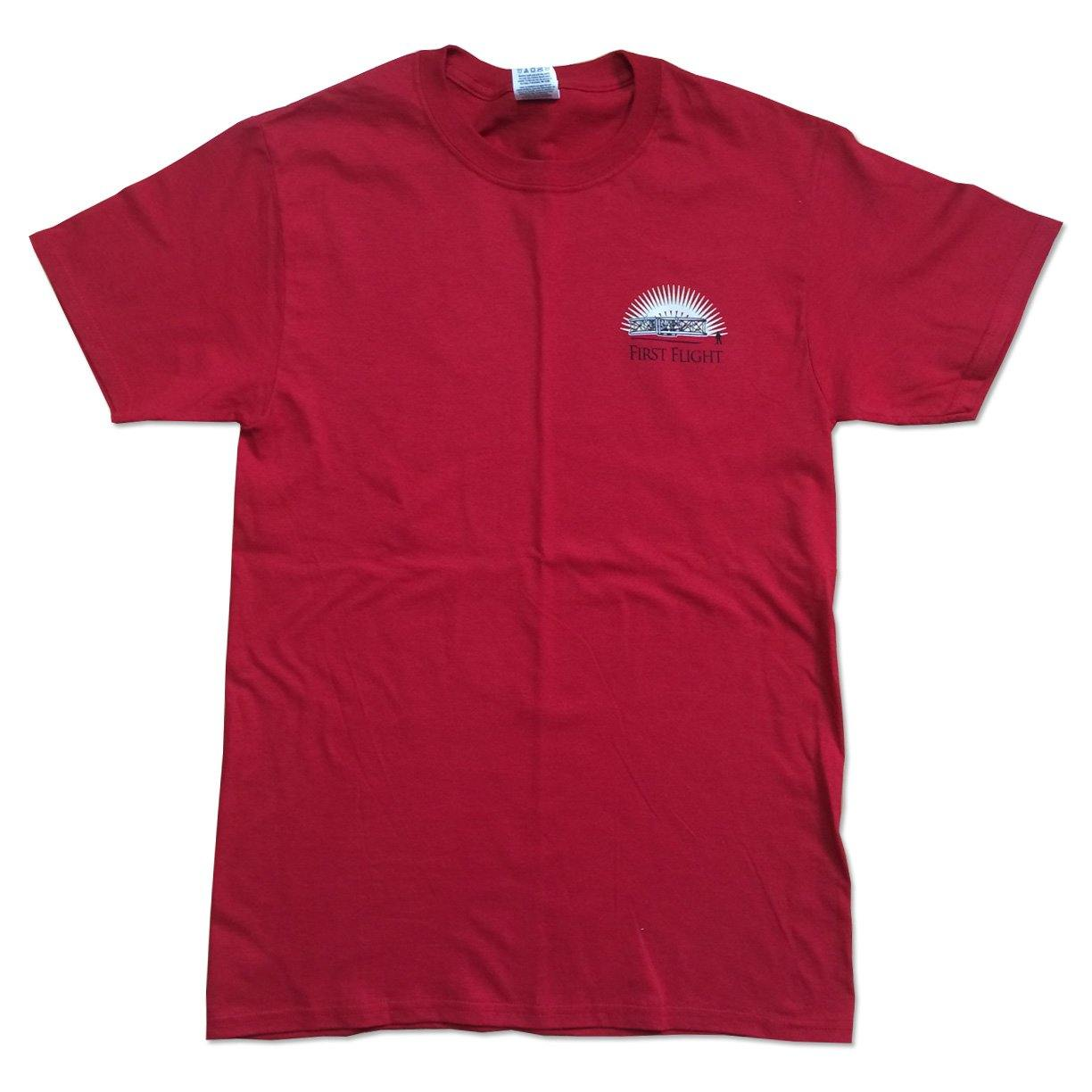 Red - Front of Shirt