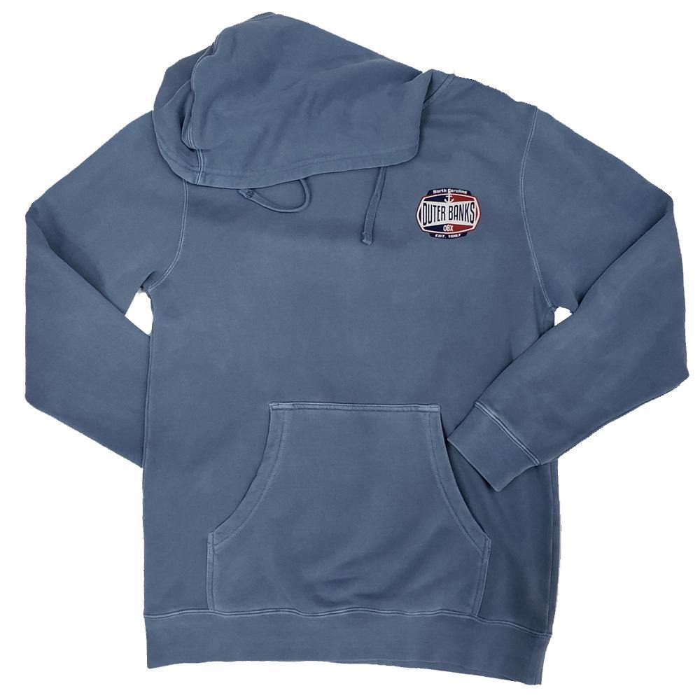 Outer Banks Anchor Hooded Sweatshirt - Kitty Hawk Kites Online Store