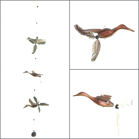 Wood Crane Whirly Mobile - Kitty Hawk Kites Online Store