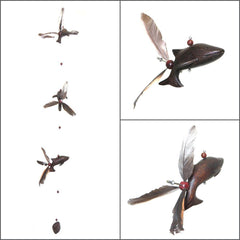 Wood Dolphin Whirly Mobile - Kitty Hawk Kites Online Store