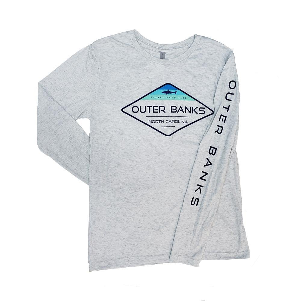 Outer Banks Shark Long Sleeve T-Shirt