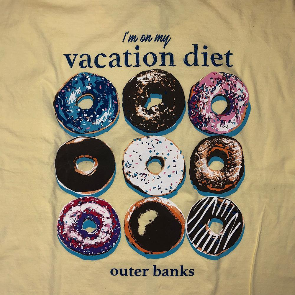 OBX Vacation Diet Short Sleeve Tee